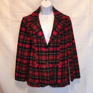 Pendleton fitted lightweight blazer